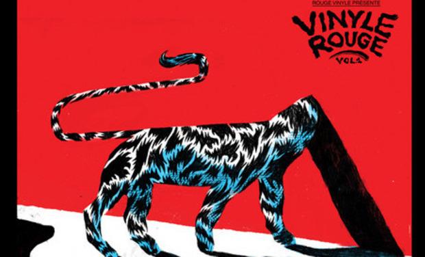 """Visueel van project  """" Vinyle Rouge vol.1"""""""