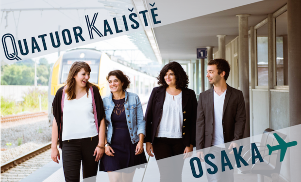Project visual Quatuor Kaliště au Japon  : Direction Osaka !