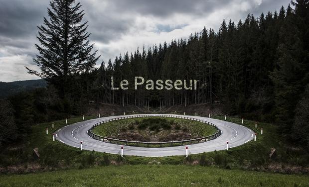 """Visuel du projet Première exposition """"Le passeur"""""""