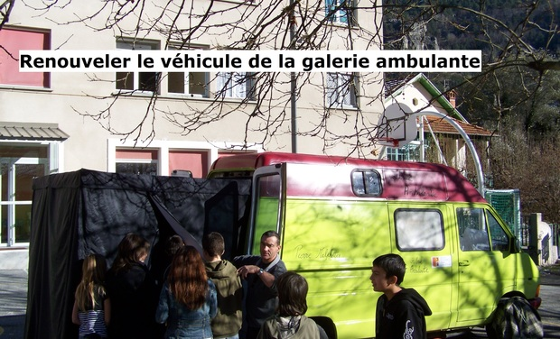 Project visual La Galerie Ambulante