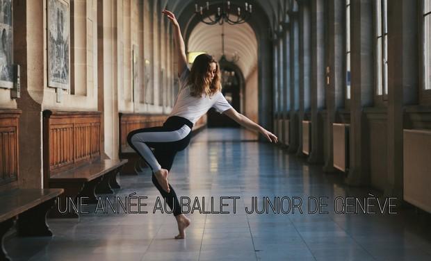 Visuel du projet Une année au Ballet Junior de Genève