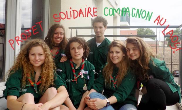 Project visual Projet solidaire compagnon au Laos