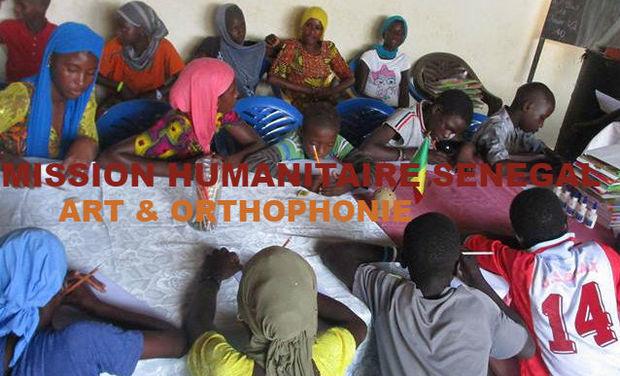 Visuel du projet Mission humanitaire enfants sénégal