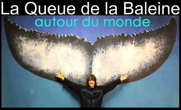 Project visual La Queue de la Baleine autour du monde