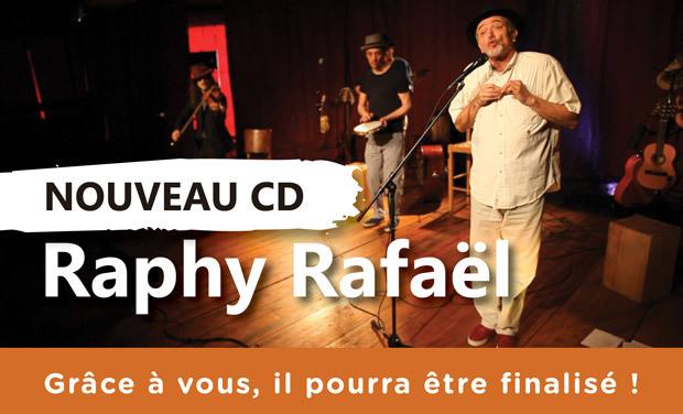 """Visuel du projet Raphy Rafaël - Nouvel album """"Plus loin, plus beau"""""""