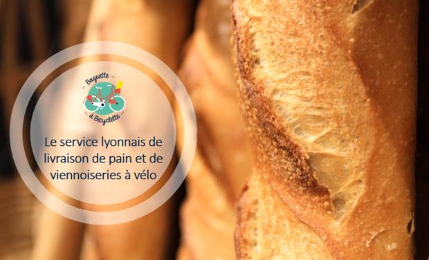 Visuel du projet Baguette à Bicyclette livre l'aliment préféré des français chez vous !