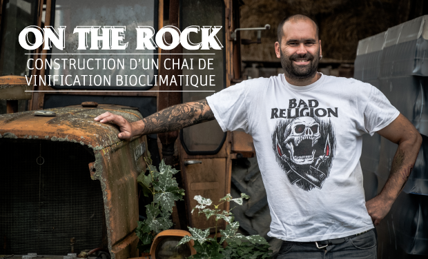 "Project visual ""On the Rock"" - Une nouvelle Cave pour No Control"