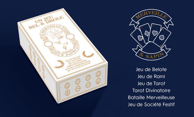 Project visual Jeu de Cartes de Tarot MERVEILLE & SAPIN