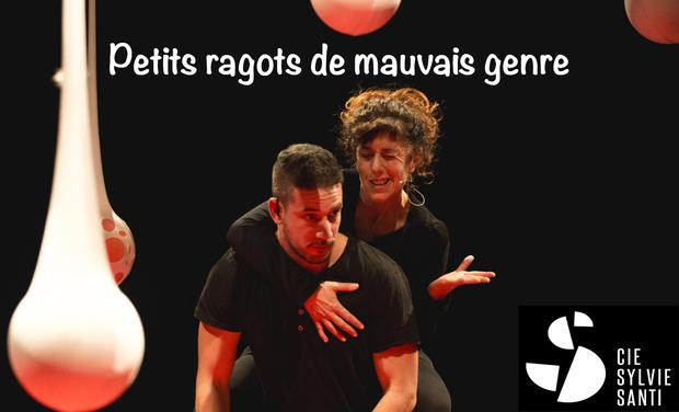 """Visuel du projet """"Petits ragots de mauvais genre"""" au festival Villeneuve en Scène"""