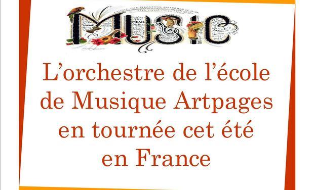 Visuel du projet L'estivale d'Art'orchestra