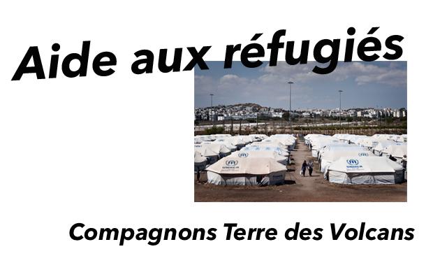 Project visual Camp compagnons d'aide aux réfugiés en Grèce