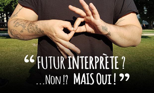 Visuel du projet Futur interprète ? Non !? Mais OUI !