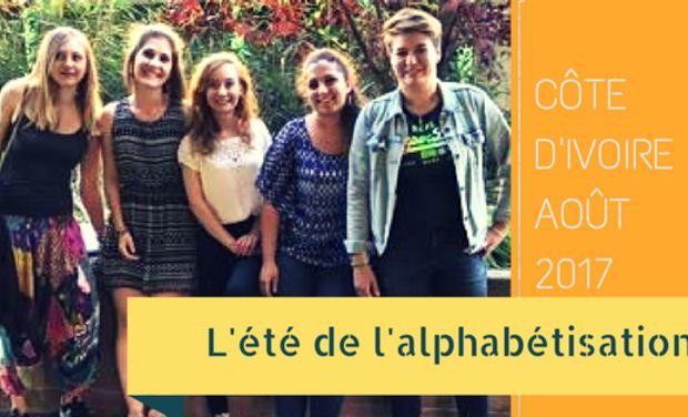 Visuel du projet L'été de l'Alphabétisation en Côte d'Ivoire