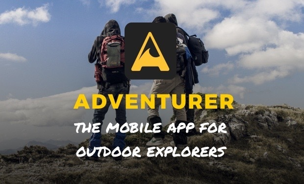 Visuel du projet Adventurer - Mobile app for outdoor explorers