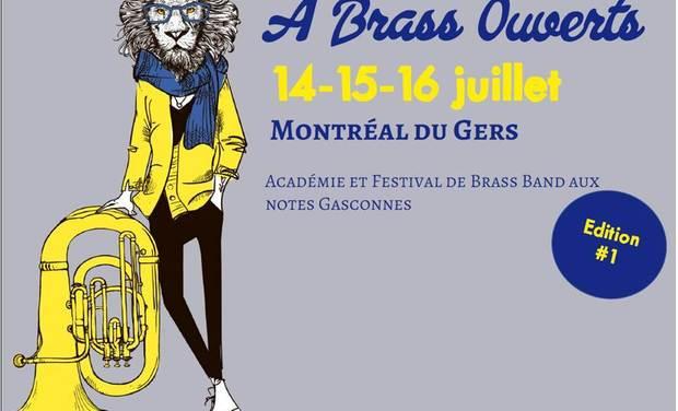 Visuel du projet A Brass Ouverts - Académie et Festival de Brass Band