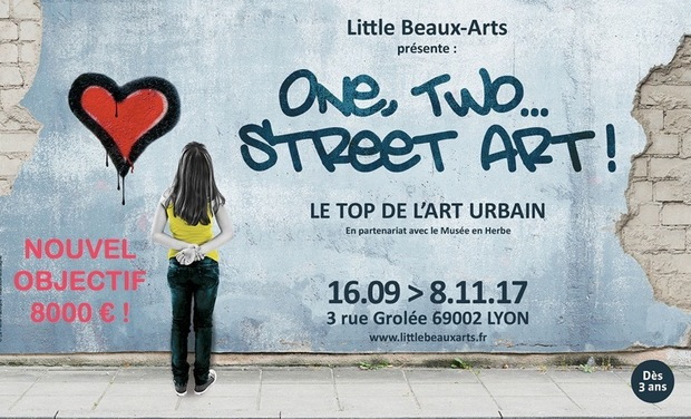 One, Two… Street art !