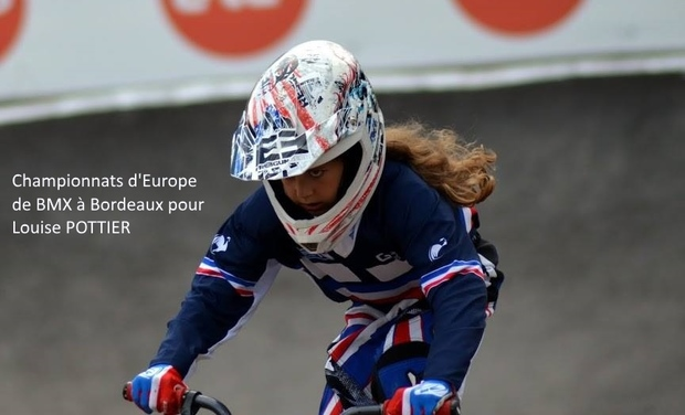 Visuel du projet BMX : Championnats d'Europe pour Louise POTTIER