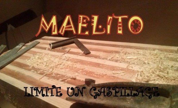 Visueel van project MAELITO       l'imagination pour limiter un gaspillage