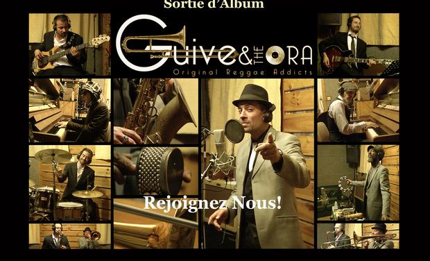 Visuel du projet GUIVE & the ORA - Sortie d'album