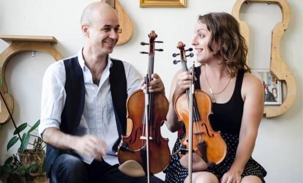 """Visuel du projet Marie-Pierre Lecault et Robin Boulianne, enfin un premier album pour """"La Suite"""""""