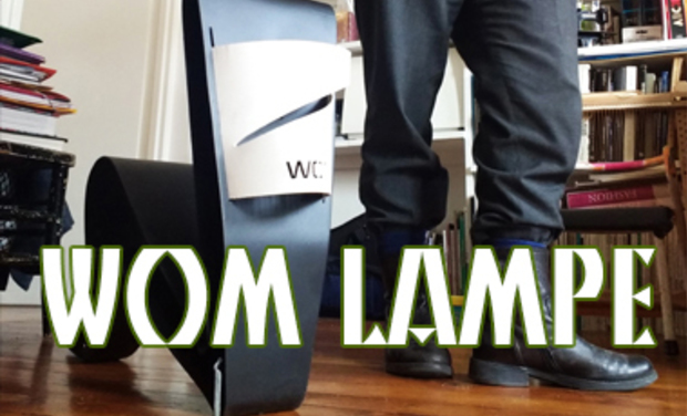 Visueel van project wom lampe