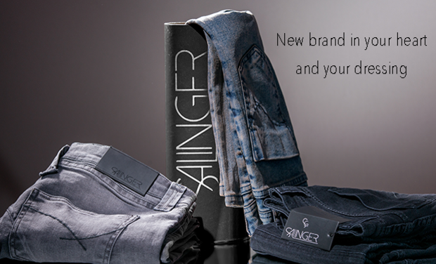 "Project visual SALINGER ""New brand in your heart... and your dressing"""