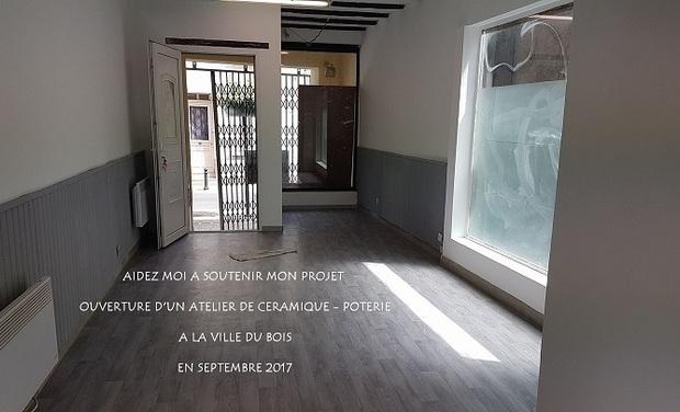 Visuel du projet Ouverture d'un atelier de céramique - poterie