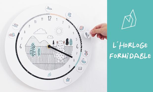 Visuel du projet L'horloge Formidable