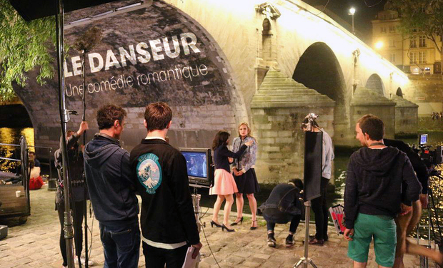 Project visual Tournage du film Le Danseur