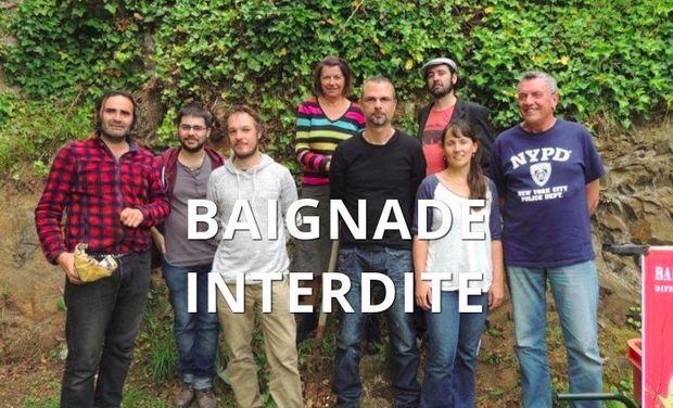 Project visual BAIGNADE INTERDITE difennet neuial théâtre-écolo !