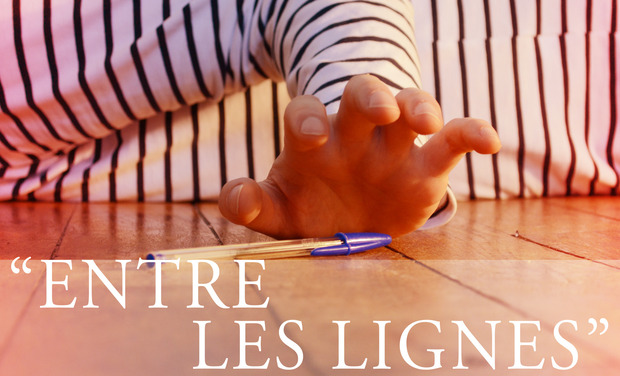 Project visual Entre les lignes - Court métrage de fiction