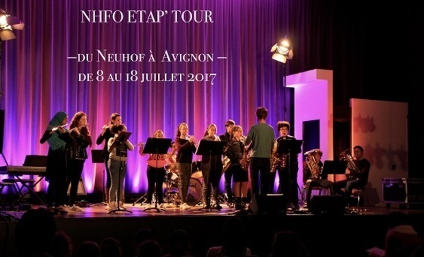 Project visual NHF TOUR - Tournée 2017 - De Strasbourg à Avignon