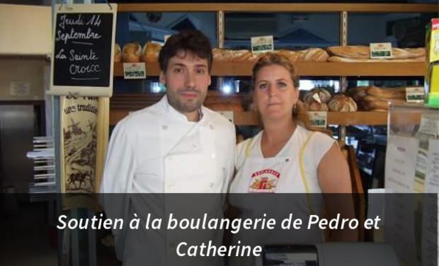 Visuel du projet Soutien à la boulangerie de Pedro et Catherine