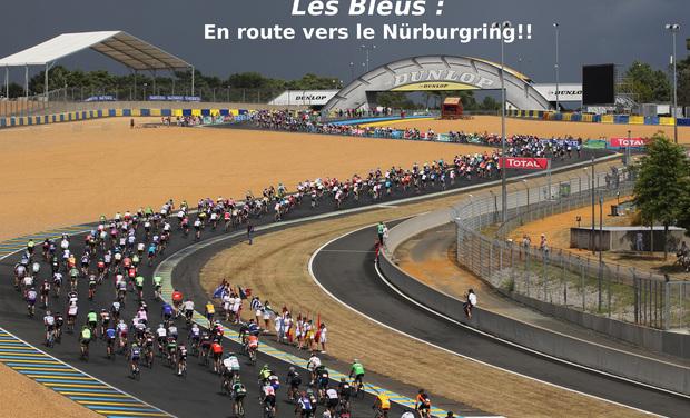 Project visual Les Bleus : ils remettent ça aux Nürburgring