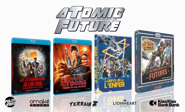 Visuel du projet Atomic Future - 2 blu-ray, 1 livre et 1 DVD post-apocalyptiques
