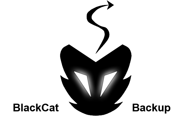 Visueel van project BlackCat Backup