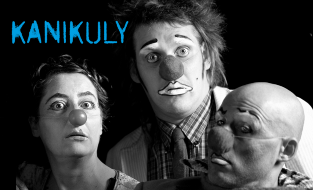 Project visual KANIKULY, création franco-russe pour 3 clowns
