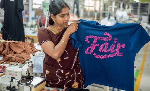 Visuel du projet Oxfam Slow Fashion