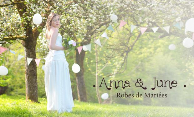 Visuel du projet Anna & June, Création de Robes de mariée