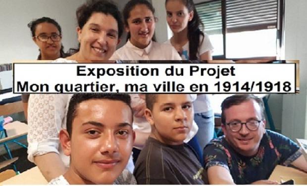 Visuel du projet Exposition Projet Mon quartier, ma ville en 14/18