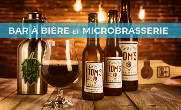 Visuel du projet Crafty Tom's: Bar à Bière et Microbrasserie