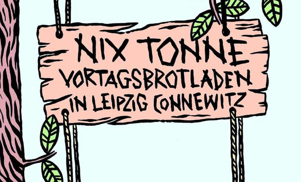 Visuel du projet NIX TONNE. - Vortagsbrotladen & Café