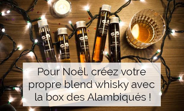 Visuel du projet Créez votre assemblage de whiskies avec Les Alambiqués