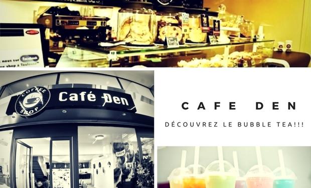 Project visual CAFE DEN - Découvrez le Bubble Tea!!!
