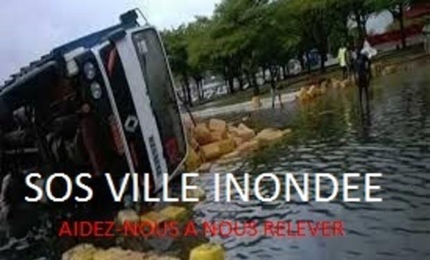 Visuel du projet SOS VILLE INONDEE/ CITY FLOODED