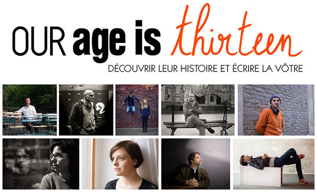 Project visual Our age is thirteen - a photography webmagazine