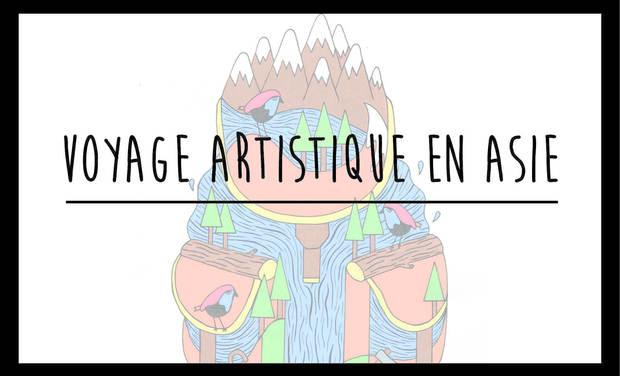 Project visual Voyage Artistique en Asie