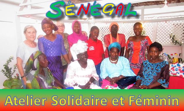 Project visual Un Atelier Solidaire et Féminin au Sénegal