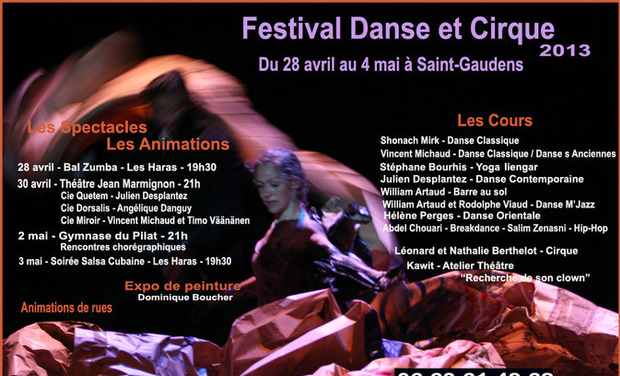 Project visual Festival Danse & Cirque Saint-Gaudens