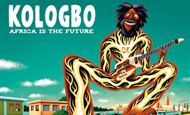 Visuel du projet KOLOGBO - Africa Is The Future CD/LP/T-shirts